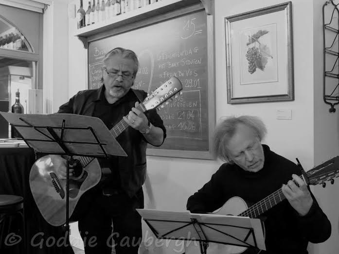 Quirilian (Frank De Vos en Jan Mertens). Foto: Goddie Caubergh